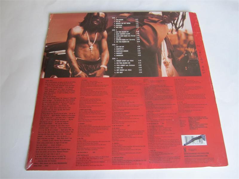 Lil Wayne Tha Carter Ii Vinyl 2005 Explicit Lyrics