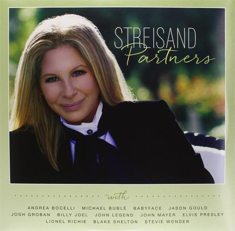 Barbra Streisand - Partners (Vinyl - 09/16/2014) [All New Duet