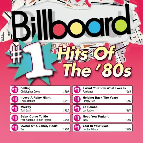 Billboard 1 hits of the 80 39 s various artists audio cd for 80 s house music list