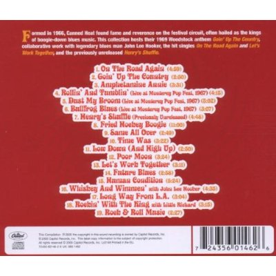 Canned Heat The Very Best Of Canned Heat Audio Cd 2005