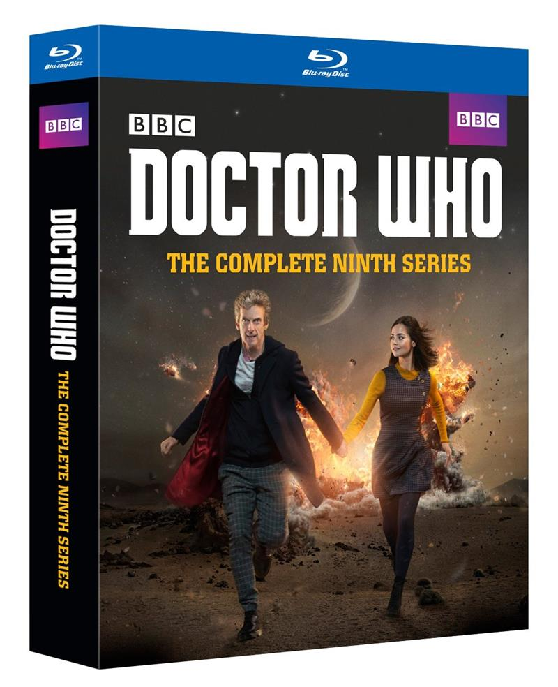Doctor Who Complete Series 9 Peter Capaldi Jenna