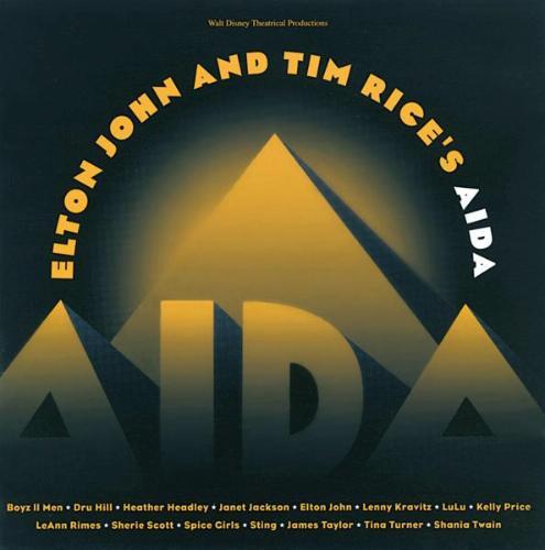 Elton John And Tim Rice S Aida 1999 Concept Album Cast