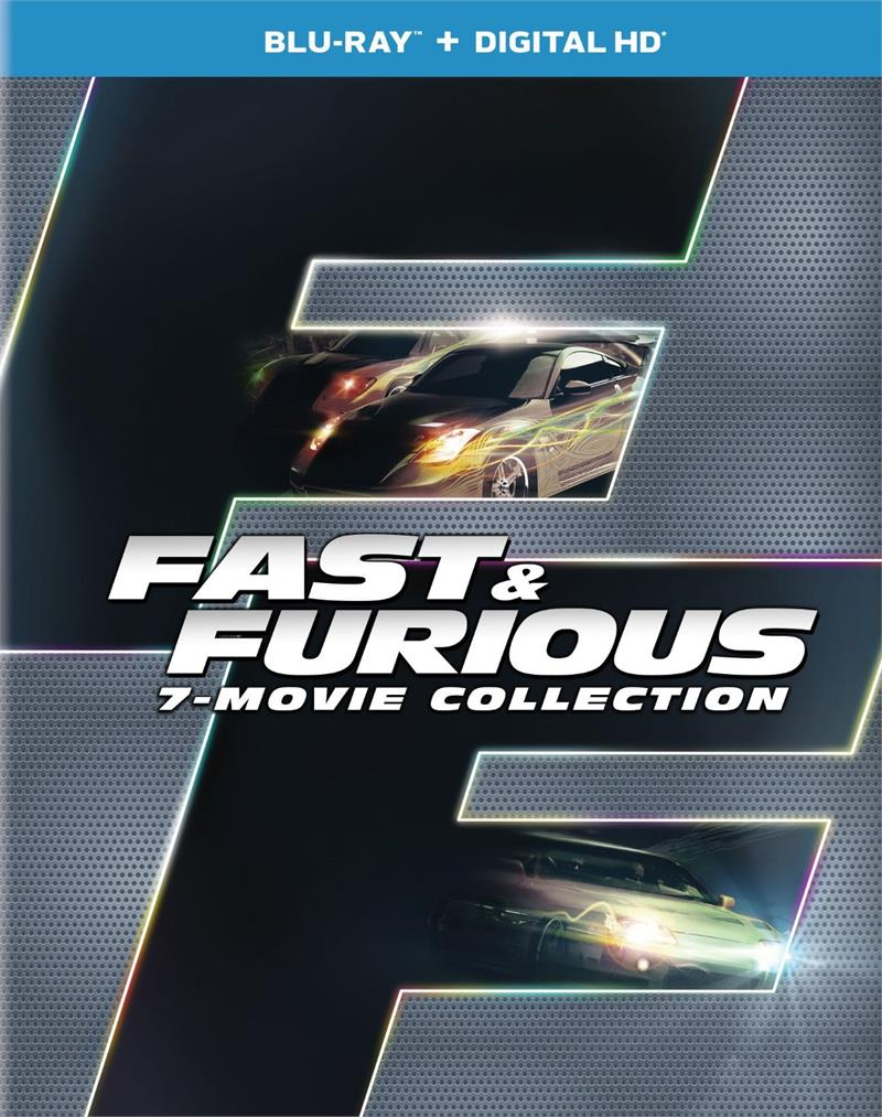 Fast Amp Furious 7 Movie Collection 2001 Vin Diesel