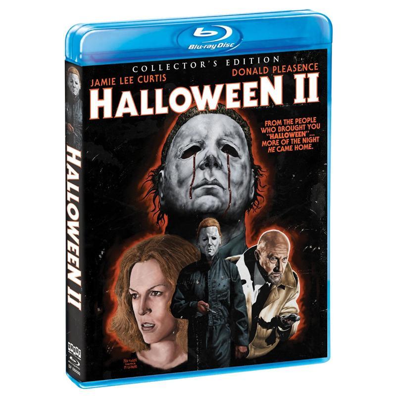 Halloween 2020 Dvd Jamie Lee Curtis Halloween II   Starring Jamie Lee Curtis and Donald Pleasence (Blu