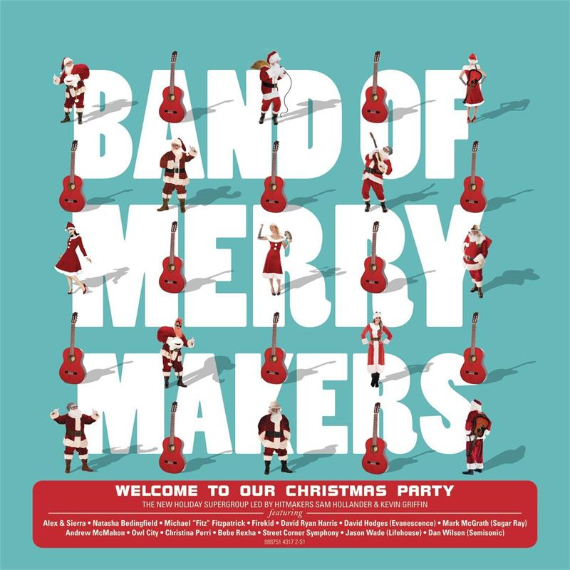 band of merrymakers welcome to our christmas party audio cd october 23 2015. Black Bedroom Furniture Sets. Home Design Ideas