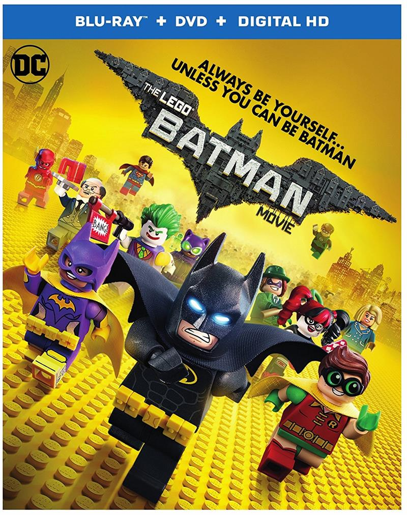 The LEGO Movie Bluray