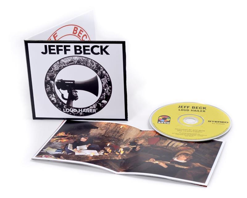 jeff beck loud hailer audio cd jul 15 2016. Black Bedroom Furniture Sets. Home Design Ideas