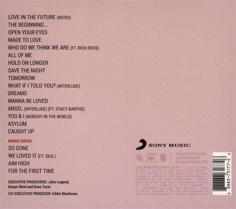 John Legend - Love in the Future (Deluxe Edition) (Audio ...