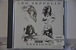 led zeppelin bbc sessions album sampler collectible audio cd promo only. Black Bedroom Furniture Sets. Home Design Ideas