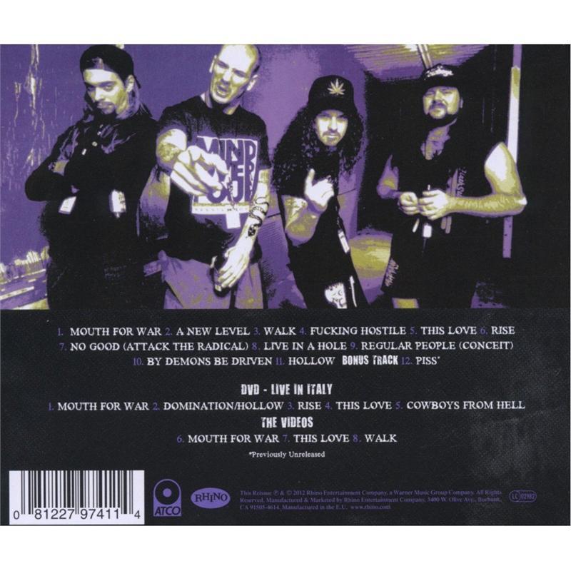 Lyric domination lyrics : Vulgar Display Of Power (Audio CD/DVD - 2012) - [Deluxe Edition ...