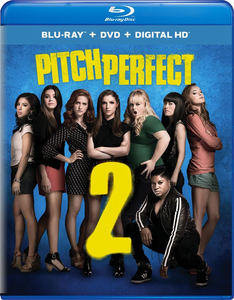 Pitch Perfect 2 Anna Kendrick Rebel Wilson Blu Ray