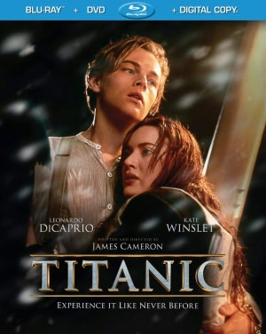Titanic Starring Leonardo Dicaprio Kate Winslet Billy Zane And