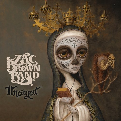 Zac Brown Band Uncaged Audio Cd 2012