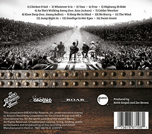 Zac Brown Band Greatest Hits So Far Audio Cd 11 10