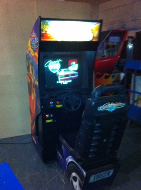 Cruis N World Arcade Video Game By Midway Nintendo