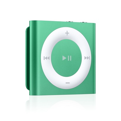 apple ipod shuffle 2gb mp3 player 4th generation green. Black Bedroom Furniture Sets. Home Design Ideas