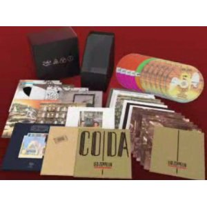 led zeppelin definitive collection box set mini lp replica 12 audio cd 39 s 2008 special. Black Bedroom Furniture Sets. Home Design Ideas