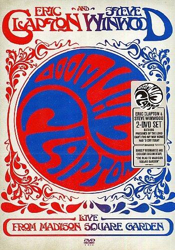 Eric Clapton Steve Winwood Live From Madison Square Garden Audio Cd Dvd 2009