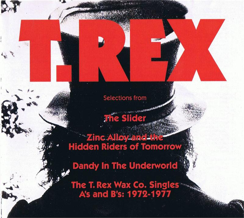 T Rex Promo Only Cd Sampler 15 Selections From 4 Classic
