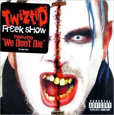Twiztid Freek Show Audio Cd 2000 Explicit Lyrics