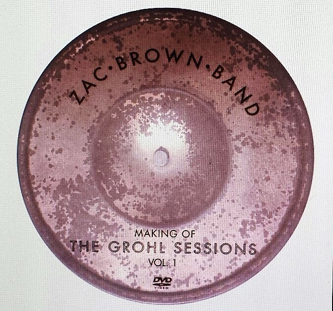 Zac Brown Band The Grohl Sessions Volume 1 Exclusive
