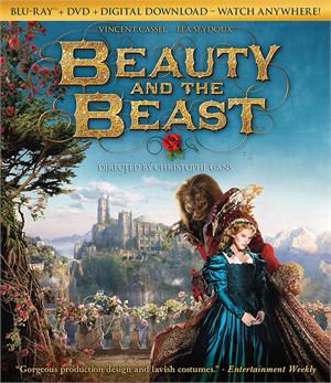 beauty and the beast blu ray 2017