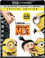 Despicable Me 3 ( Blu-ray + 4K + HD + DIGITAL 12-05-2017 )