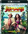 Jumanji: Welcome to The Jungle  [4K Ultra HD + Blu-ray + Digital HD]